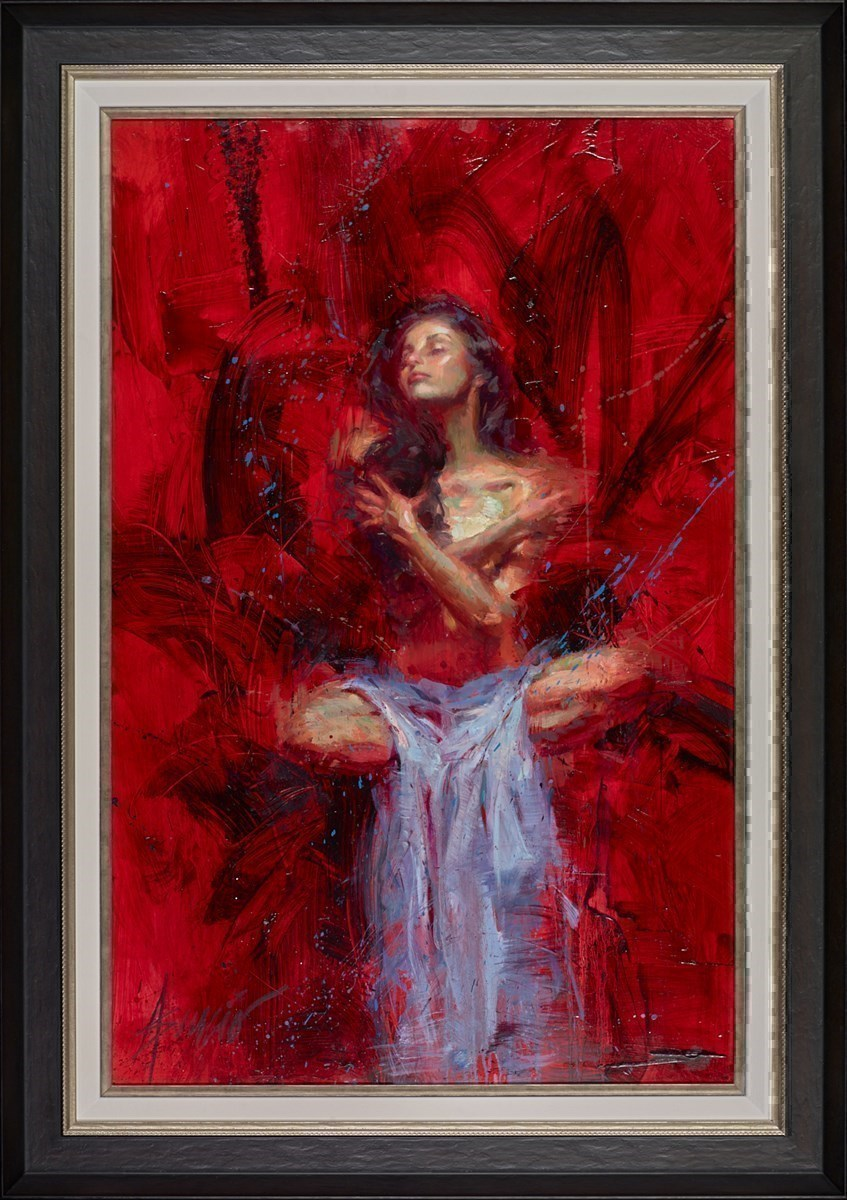 Estrella by Henry Asencio -  sized 26x40 inches. Available from Whitewall Galleries